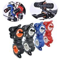 360° MTB Bike Handlebar Mount Bracket Flashlight Torch Clip Clamp Holder US