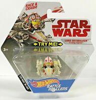 Disney Mattel Hot Wheels Battle Roller Star Wars Die Cast Luke Skywalker X Wing