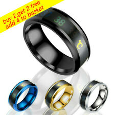 Jewelry Gift Magic Mood Rings Temperature Measurement Ring Thermometer Display