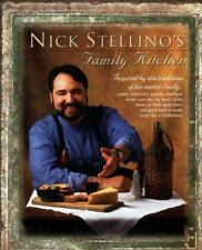 Nick Stellino's Family Kitchen by Nick Stellino (1999, Hardcover)  NEW