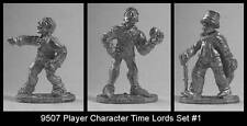 Doctor Who  FASA Time Lords Set #1 Minis MINT