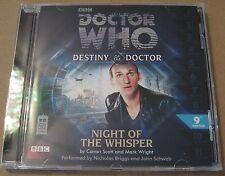 Doctor Who - Night Of The Whisper Audio Book Cd Nicholas Briggs John Schwab MINT