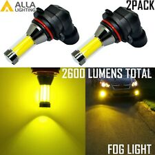 Alla Lighting 9006 LED Driving Fog Light,Luxury Yellow Get Noticed,5-star Review