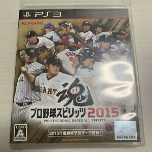 PS3 Pro Baseball Spirits 2015 67627 Japanese ver from Japan