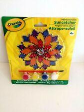 1 Crayola Paint Your Own Suncatcher Flower