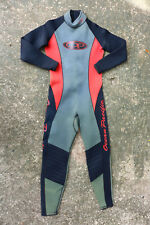 Wetsuit OCEAN PACIFIC Black Red Surfing Diving Wet Suit S Sml SMALL Classic IQ