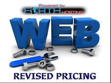 Nombre illimité d'hébergement Web Super Rapide Temps de charge Unlimited Espace Web 1 Go Boîtes aux lettres