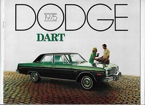 1975 Dodge Dart (including Dart Swinger & Dart Sport) brochure
