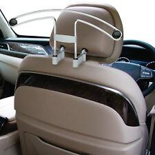 Sumex Car Interior Universal Headrest Mounted Metal Clothes Coat Hanger - Chrome