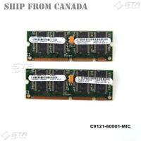 256MB (2X128MB) HP LaserJet Printer Memory Module C9121-60001-MIC