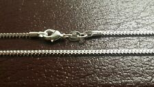 925 Sterling Silver 20 Inch Box Chain- Free Shipping- U.S.A Seller-