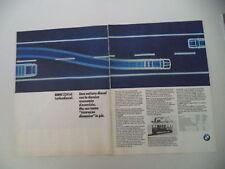 advertising Pubblicità 1985 BMW 524 TD