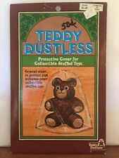 "Vintage ~ Teddy Dustless ~ Dolly Dustless ~ Protective Cover ~ 9"" Seated"