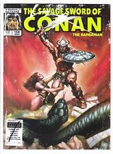 SAVAGE SWORD OF CONAN #158 (3/89)--VG+ / Ernie Chan, Jim Valentino-art; Ovi-c^