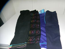 Set of 4 Girls Leggings Size -4/5