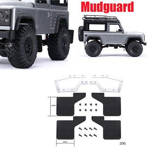 Mud Flaps Rubber Fender Mudguard DIY for RC Car MN Land Rover Defender D90 Truck