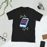 Trans Lives Matter LGBTQ Movement Protest Black T-Shirt Sizes Adult Small to 3XL