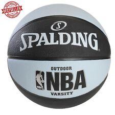 Spalding NBA Super Tack Basketball Size 7 29.5 Indoor Outdoor Neon Black/Blue