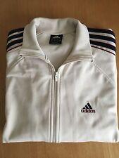 ADIDAS Originals Vintage Trefoil Logo Mens Cream/Off white Top Jacket UK 42/44