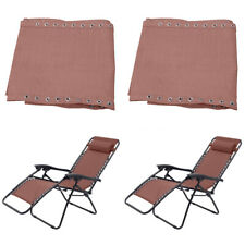 2pcs Replacement Fabric Cloth for Non-Gravity Chair Lounge Couch Coffee