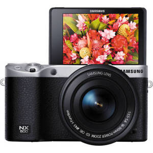[SAMSUNG] NX500 28MPINTERCHANGEABLE LENS CAMERA WITH 16-50MM Black