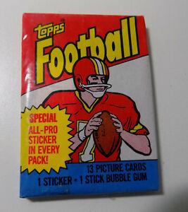 1983 TOPPS FOOTBALL WAX PACK