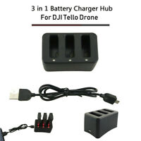 3 in1 Multi Battery Charger Hub Intelligent Quick Charging For DJI Tello Drone