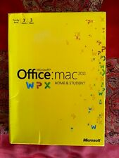 NEW SEALED Microsoft Office Home & Student 2011 Box Family Pack 3 Users 3 Macs