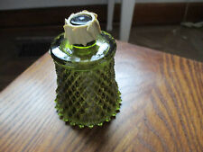 Vintage Green  Home Interiors  Votive Cup Candle Holder Diamond Design