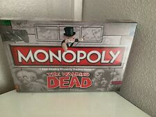 The Walking Dead Monopoly board game - Survivor's Edition New And Sealed Fan Tv
