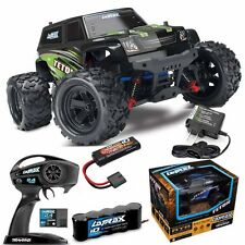 Traxxas 76054-5 LaTrax Teton 1/18 Monster Truck 4WD RTR Green w/ Extra Battery
