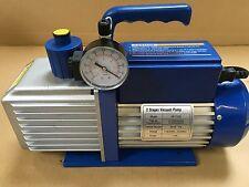 Air conditioning Vacuum pump 1HP 10cfm With Vac Gauge and Solenoid