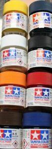 Tamiya X- And Xf-Acrylfarbe 23 ML Various Colour Tones (100ml = 20,43 €)