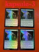 4x Seek the Wilds   FOIL   Battle for Zendikar   MTG Magic Cards