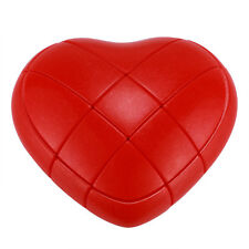 YONGJUN Red Heart LOVE 3 x 3 Magic Cube Twist Puzzle Smooth Speed Play
