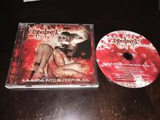 ENTHRALLMENT Immerse Into Bloody Bliss - 2008 CD - suffocation deeds of flesh