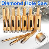 10mm - 45mm Diamond Hole Saw Drill Core Bit Tile Ceramic Porcelain Stone Marble