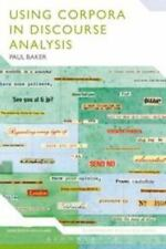 Bloomsbury Discourse: Using Corpora in Discourse Analysis by Paul Baker and...
