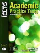 Macmillan Focusing on IELTS ACADEMIC PRACTICE TESTS 2nd Ed with Answers &CDs NEW