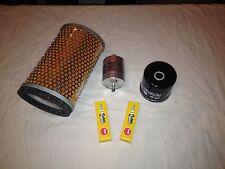 Triumph Scrambler Efi kit de servicio de Filtro de aceite combustible Original Filtro De Aire Spark Plugs