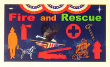 refrig magnet refrigerator fireman rescue first responder fridge magnets Graff