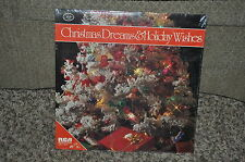 CHRISTMAS DREAMS & HOLIDAY WISHES CHRISTMAS COLLECTOR ALBUM LP RECORD NEW SEALED