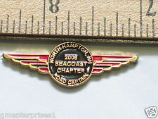Sea Coast New Hampshire Chapter Motorcycle Club Officer Road Captain Pin (#440)