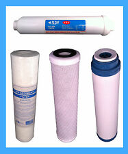 REVERSE OSMOSIS FILTER 4 SPARE RO WATER FILTERS