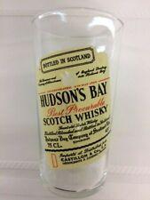 New listing Vintage Hudson's Bay Scotch Whisky Glass 10 oz