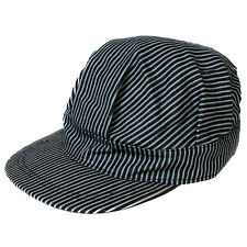 Rubies Navy With Light  Blue Striped Railroad Train Engineer Conductor Hat