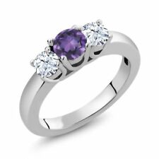 Purple Topaz Fine Rings
