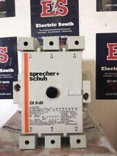 Sprecher + Schuh Contactor CA 6-85 120 Volt Coil