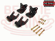 Rear Leaf Spring Rear Hanger Bracket and Shackle Kit for Ford Ranger Mazda