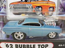 Muscle Machines - '62 Chevy Bel Air Bubble Top - Supercharged - 1/64 Diecast